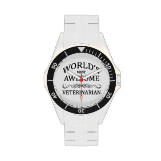 World's Most Awesome Veterinarian Wrist Watch