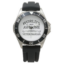 World's Most Awesome Veterinarian Wristwatch