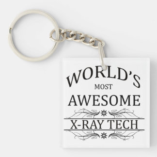 World's Most Awesome X-Ray Tech Keychain