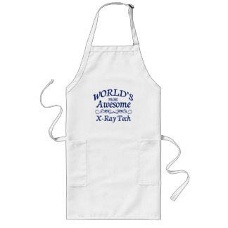 World's Most Awesome X-Ray Tech Long Apron