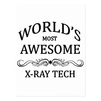 World's Most Awesome X-Ray Tech Postcard