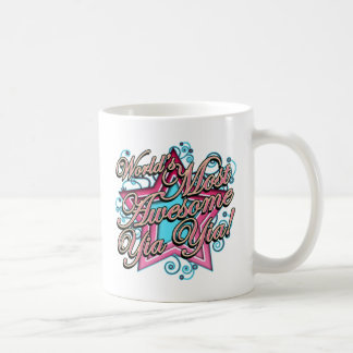 Worlds Most Awesome Yia Yia Coffee Mug