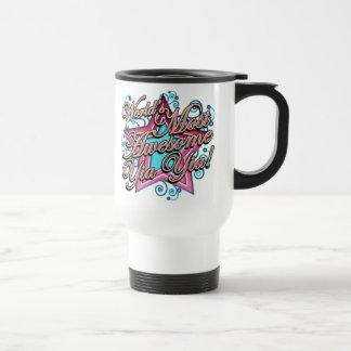Worlds Most Awesome Yia Yia Travel Mug