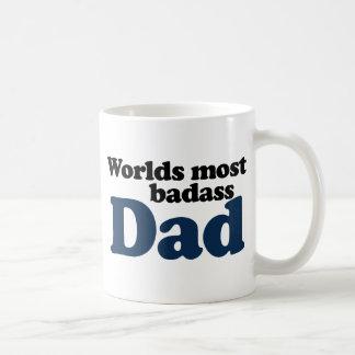 Worlds Most Badass Dad Coffee Mug