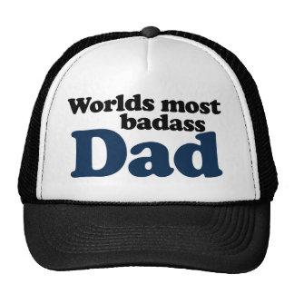 Worlds Most Badass Dad Mesh Hat