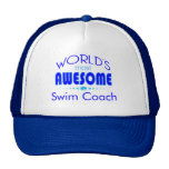 World's Most Best Swim Coach Swimming Instructor Trucker Hat
