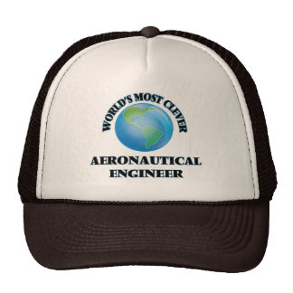 World's Most Clever Aeronautical Engineer Trucker Hat