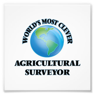 World's Most Clever Agricultural Surveyor Art Photo