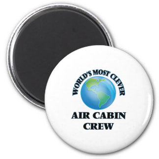 World's Most Clever Air Cabin Crew Fridge Magnet