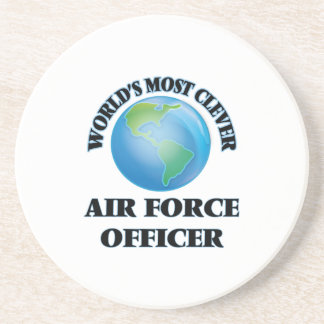 World's Most Clever Air Force Officer Drink Coasters