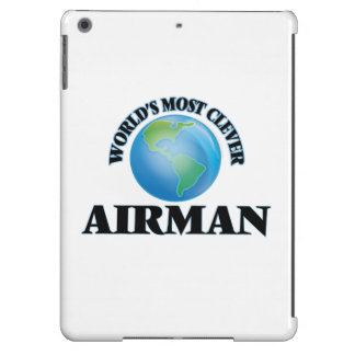 World's Most Clever Airman iPad Air Cases