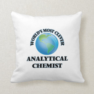 World's Most Clever Analytical Chemist Pillow
