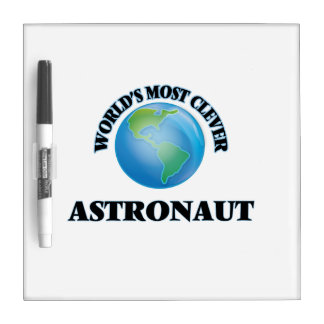 World's Most Clever Astronaut Dry-Erase Board