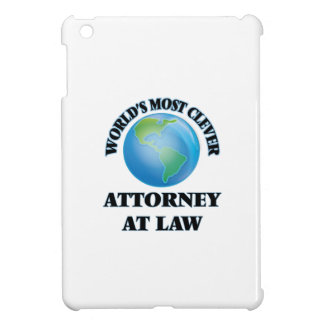 World's Most Clever Attorney At Law iPad Mini Case