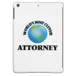 World's Most Clever Attorney iPad Air Cases