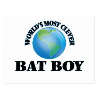 World's Most Clever Bat Boy Postcard
