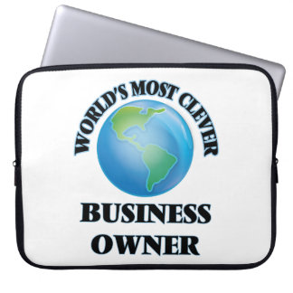 World's Most Clever Business Owner Computer Sleeves