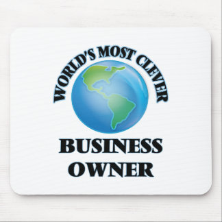 World's Most Clever Business Owner Mouse Pad