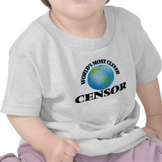 World's Most Clever Censor T Shirt