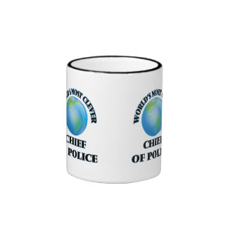World's Most Clever Chief Of Police Coffee Mug