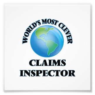 World's Most Clever Claims Inspector Photograph