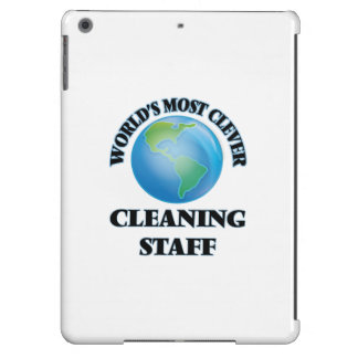 World's Most Clever Cleaning Staff iPad Air Cover