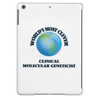 World's Most Clever Clinical Molecular Geneticist iPad Air Case