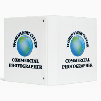 World's Most Clever Commercial Photographer Vinyl Binder