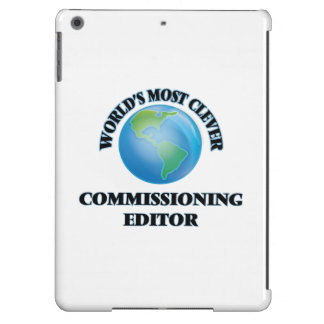 World's Most Clever Commissioning Editor iPad Air Cases