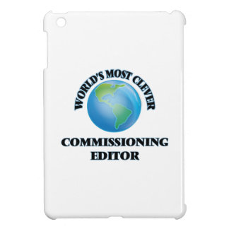 World's Most Clever Commissioning Editor iPad Mini Cases