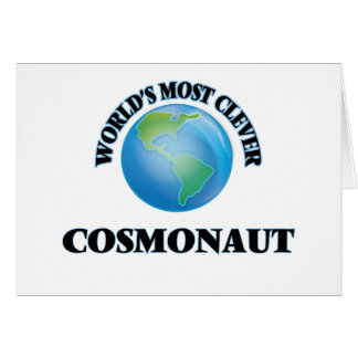 World's Most Clever Cosmonaut Cards