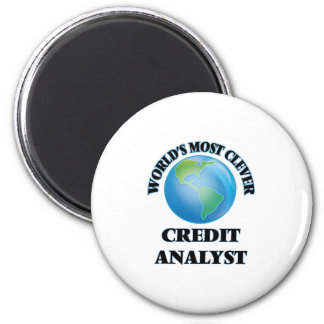 World's Most Clever Credit Analyst Refrigerator Magnet