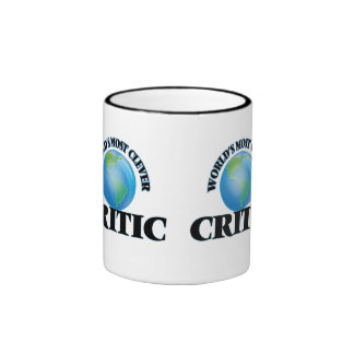 World's Most Clever Critic Ringer Coffee Mug
