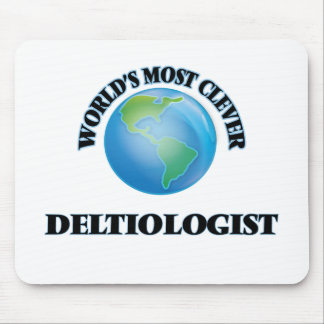World's Most Clever Deltiologist Mouse Pad