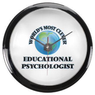 World's Most Clever Educational Psychologist Fish Tank Clocks