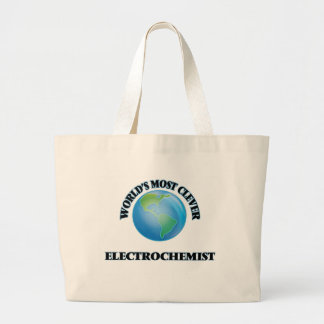World's Most Clever Electrochemist Jumbo Tote Bag