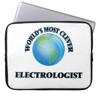 World's Most Clever Electrologist Computer Sleeve