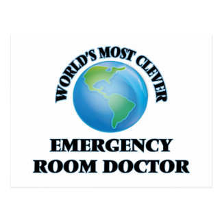 World's Most Clever Emergency Room Doctor Postcard