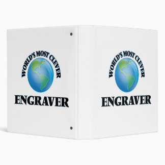 World's Most Clever Engraver Binders
