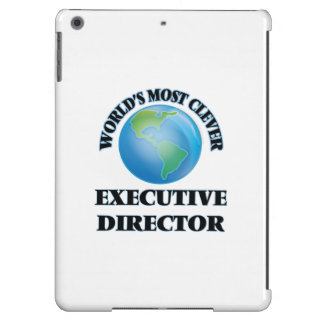 World's Most Clever Executive Director iPad Air Cases