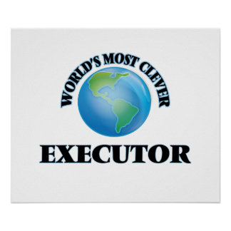 World's Most Clever Executor Poster