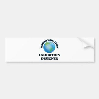 World's Most Clever Exhibition Designer Car Bumper Sticker