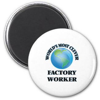 World's Most Clever Factory Worker Fridge Magnet