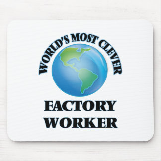 World's Most Clever Factory Worker Mouse Pad