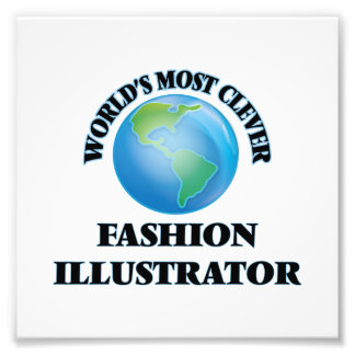 World's Most Clever Fashion Illustrator Photo Print