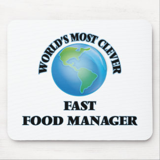 World's Most Clever Fast Food Manager Mouse Pads