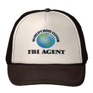 World's Most Clever Fbi Agent Mesh Hats