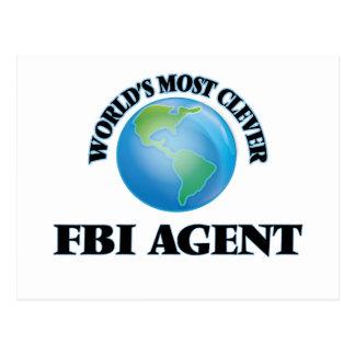 World's Most Clever Fbi Agent Postcards
