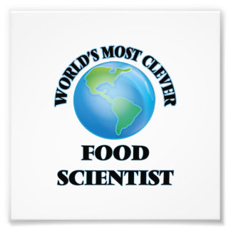 World's Most Clever Food Scientist Photo Print