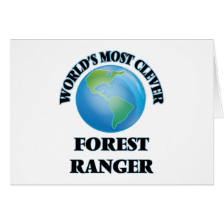 World's Most Clever Forest Ranger Cards